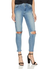 James Jeans Women's High Class Skinny Ankle Length Jean in Lived
