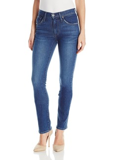 James Jeans Women's Hunter Flat High Rise Straight Leg