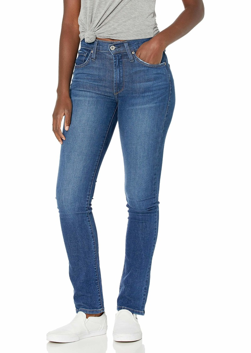 James Jeans Women's Hunter Flat High Rise Straight Leg in