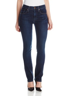 James Jeans Women's Hunter Flat Petite Length Straight Jean