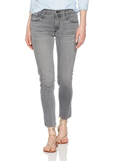 James Jeans Women's J Twiggy Ankle Jean with Released Hem