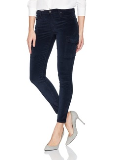 James Jeans Women's J Twiggy Ankle Length Cargo Velveteen Legging