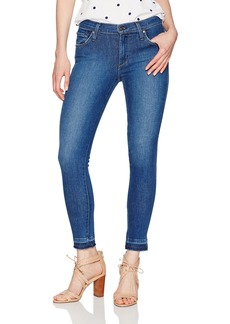 James Jeans Women's J Twiggy Ankle Skinny with Released Hem in