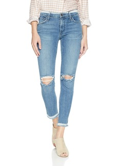 James Jeans Women's J Twiggy Mid Rise Ankle Length Jean In