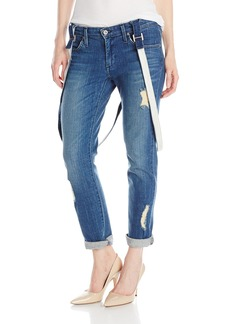 James Jeans Women's Jojo Slouchy Fit Suspended Boyfriend Jean