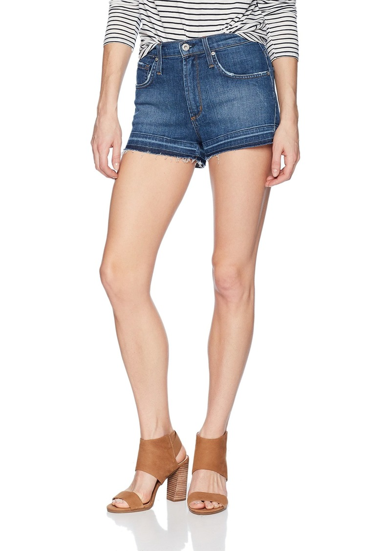 James Jeans Women's Marlo High Rise Mom Shorts in