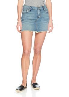 James Jeans Women's Mia Cut-Off Mini Skirt  30