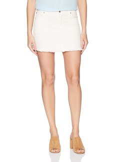 James Jeans Women's Mia Cut-Off Mini Skirt