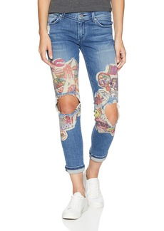 James Jeans Women's Neo Beau Slim Fit Boyfriend Jean in
