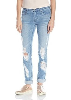 James Jeans Women's Neo Beau Slim Slouchy Boyfriend Jean In Joy Ride