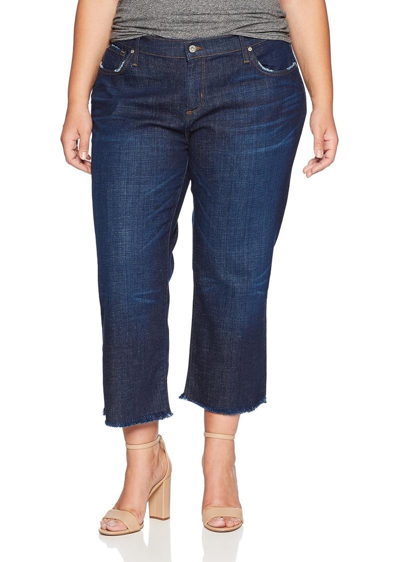 James Jeans Women's Plus Size Boyfriend Jesse Jean in