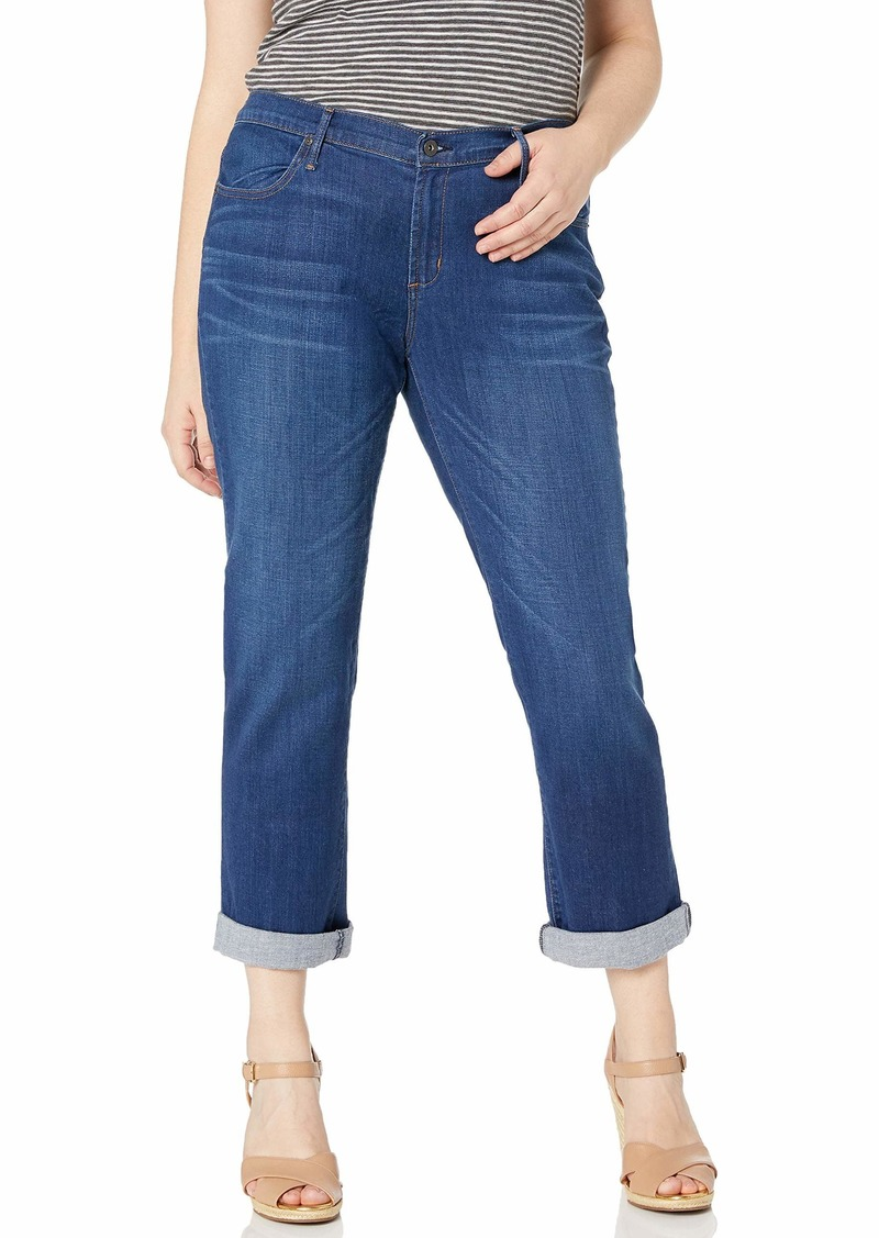 James Jeans Women's Plus Size Classic Slim Boyfriend in