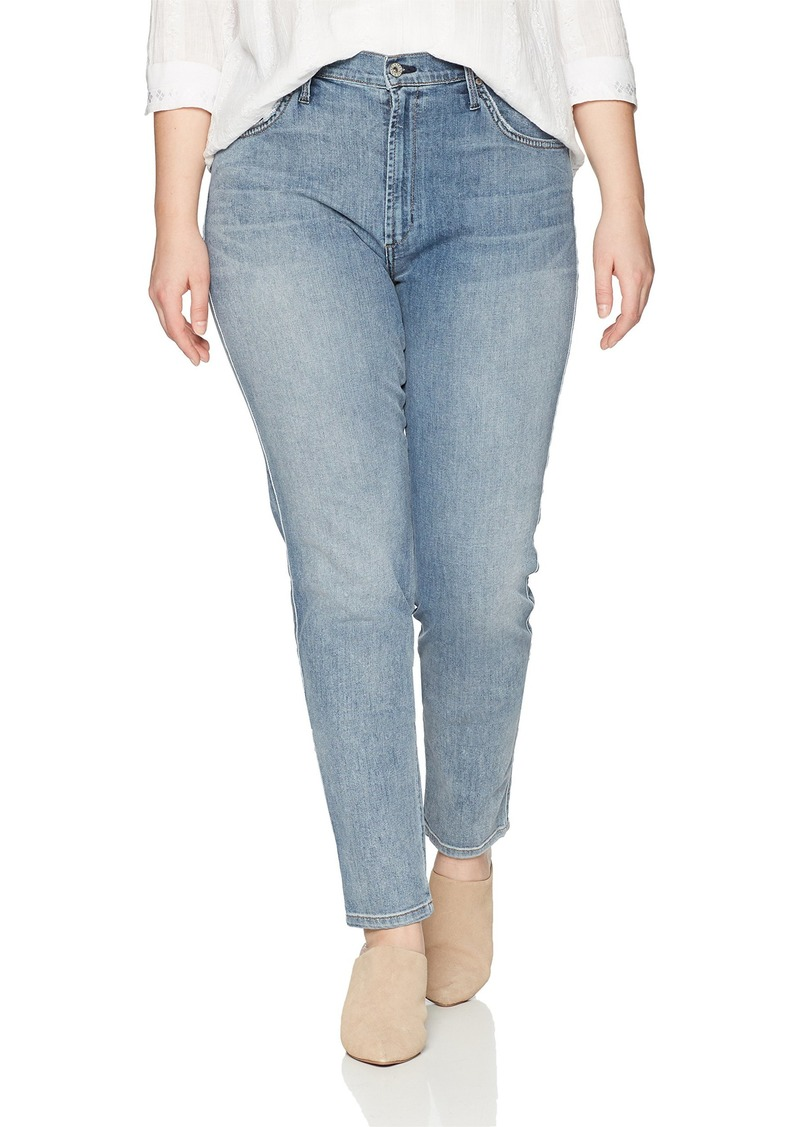 James Jeans Women's Plus Size High Rise Skinny Jean in Bel-Air W
