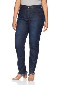 James Jeans Women's Plus Size High Rise Skinny Jean in  W
