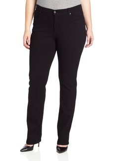 James Jeans Women's Plus-Size Hunter Curvy Straight Leg Jean