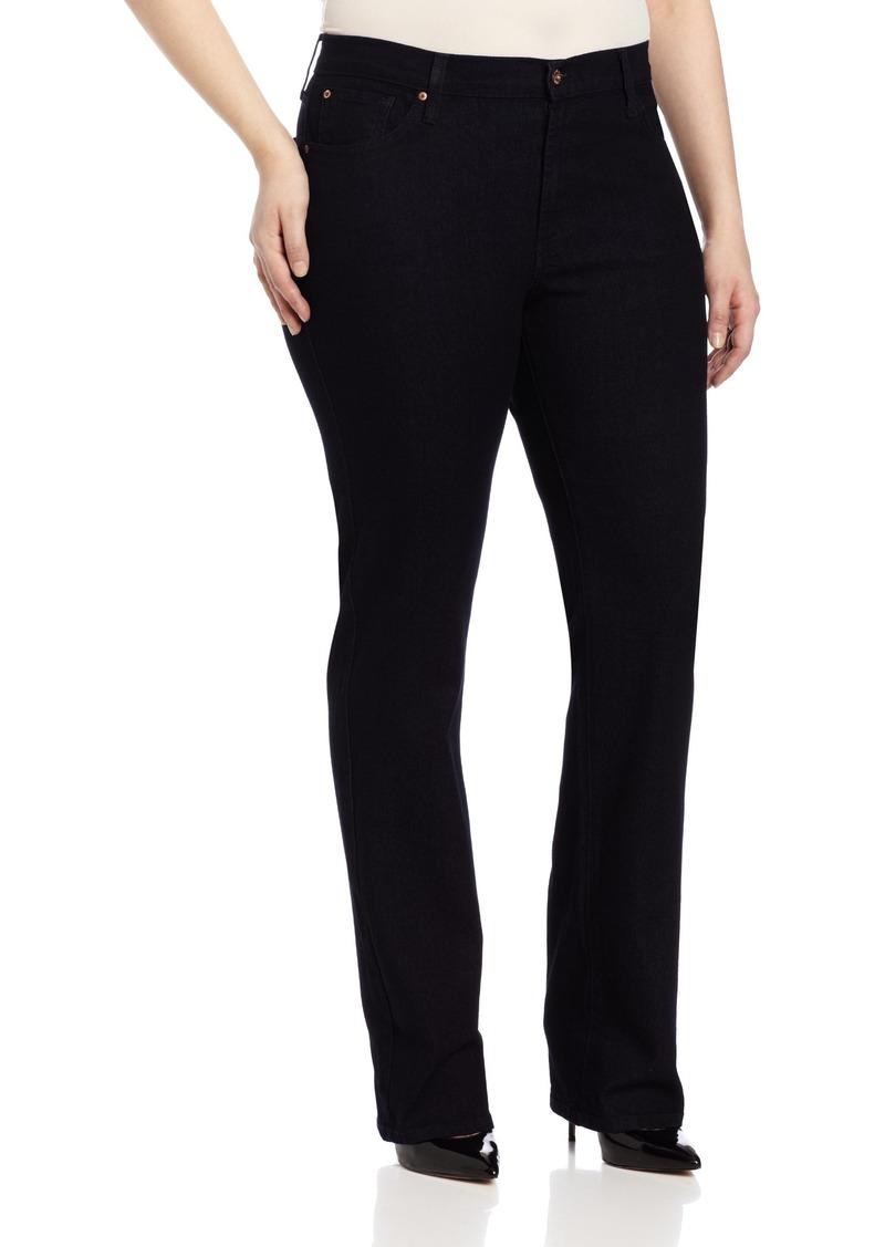 James Jeans Women's Plus Size Hunter Z Straight-Leg Jean  22w