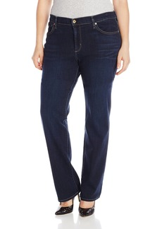 James Jeans Women's Plus-Size Hunter Z Straight Leg Jean In