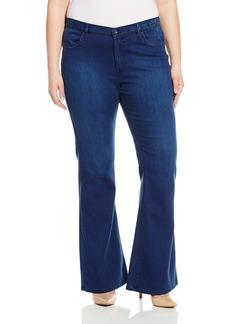 James Jeans Women's Plus-Size Juliette Curvy Flare Leg Jean in