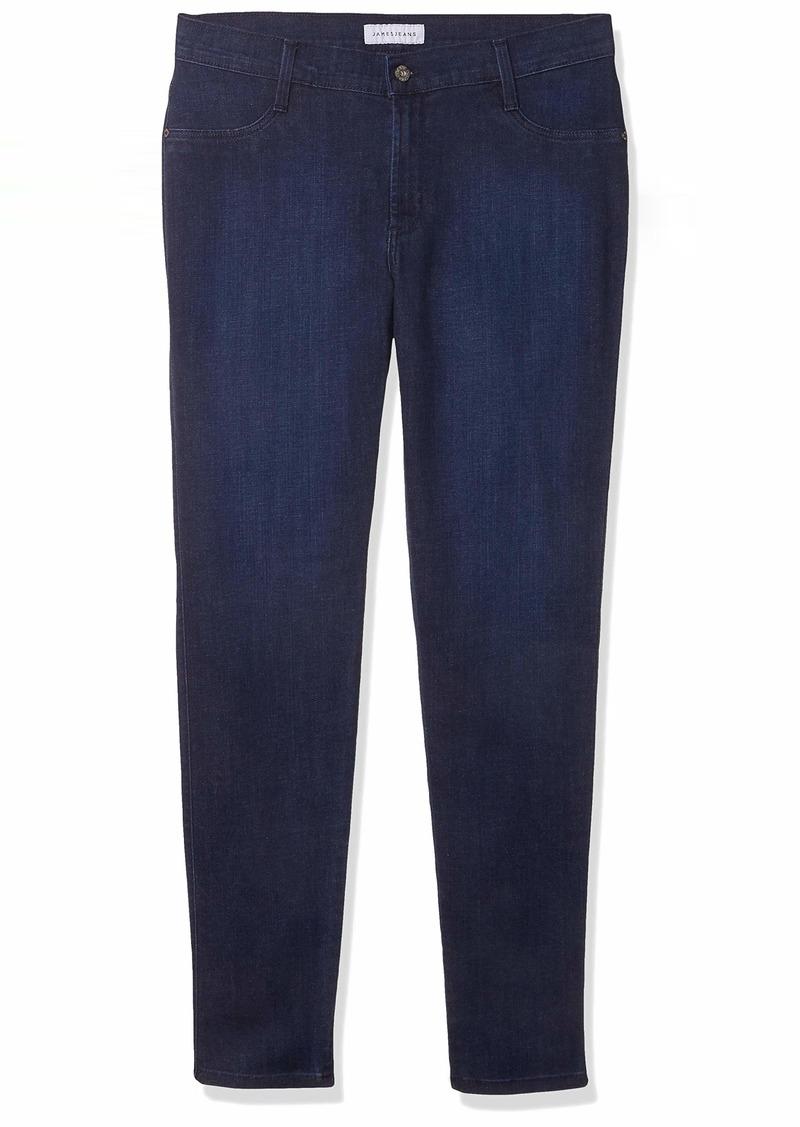 James Jeans Women's Plus Size Leggy Curvy Faux Front Pocket Jean in  W