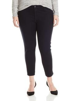 James Jeans Women's Plus-Size Leggy Z Ankle Front Pocket Legging Jean