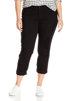 James Jeans Women's Plus-Size Neo Beau Curvy Boyfriend Jean