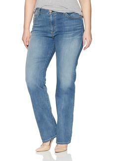 James Jeans Women's Plus Size Straight Hunter Jean in