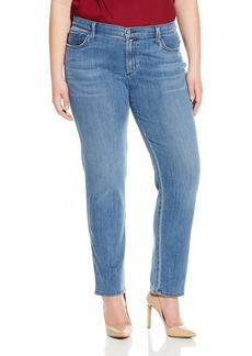 James Jeans Women's Plus-Size Twiggy Curvy 5-Pocket Cigarette Jean in