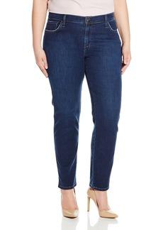 James Jeans Women's Plus-Size Twiggy Curvy 5-Pocket Cigarette Leg Jean In