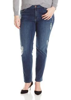 James Jeans Women's Plus-Size Twiggy Z 5-Pocket Cigarette Leg Jean  22