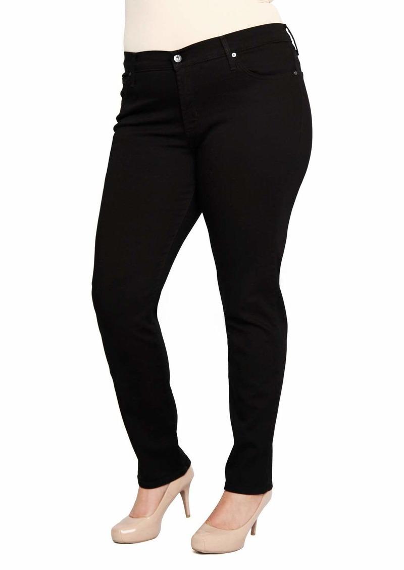 James Jeans Women's Plus Size Twiggy Z Five-Pocket Skinny Jean in