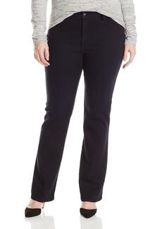James Jeans Women's Plus-Size Z Slim Leg Boot Cut Jean Solstice