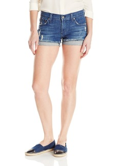 James Jeans Women's Shorty Slouchy Fit Boy Shorts In