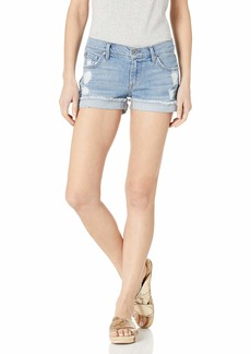 James Jeans Women's Shorty Slouchy Fit Boy Shorts in Joy