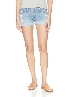 James Jeans Women's Shorty Slouchy Fit Boy Shorts In Joy Ride
