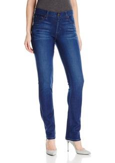 James Jeans Women's Slim Pencil Mid Rise Cigarette Leg Jean