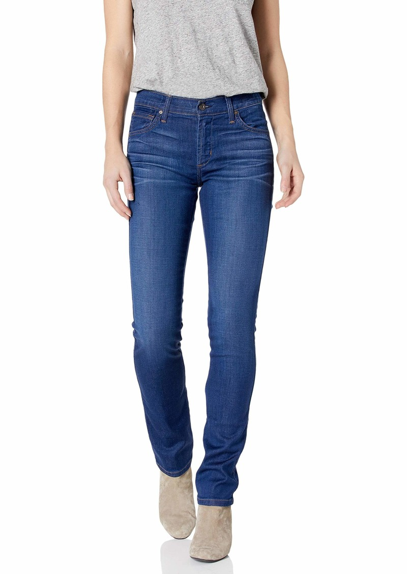 James Jeans Women's Slim Pencil Mid Rise Cigarette Leg Jean in