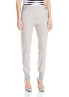 James Jeans Women's Track Elastic Waist Pull On Pant
