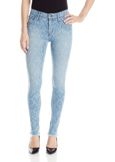 James Jeans Women's Twiggy 5-Pocket Legging Jean In Splash Ikat