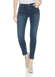James Jeans Women's Twiggy Ankle Length Skinny Jean In Dynasty Clean Dynasty CLN