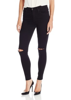 James Jeans Women's Twiggy Ankle Length Skinny Jean with Knee Slits and Hem in