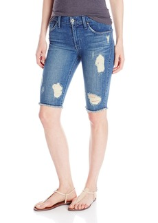 James Jeans Women's Twiggy Bermuda Raw Short