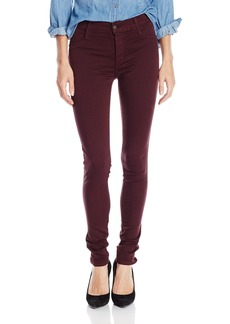 James Jeans Women's Twiggy Black Red