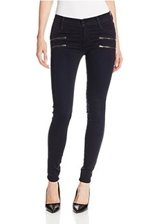 James Jeans Women's Twiggy Crux Double Front Zip Legging Jean