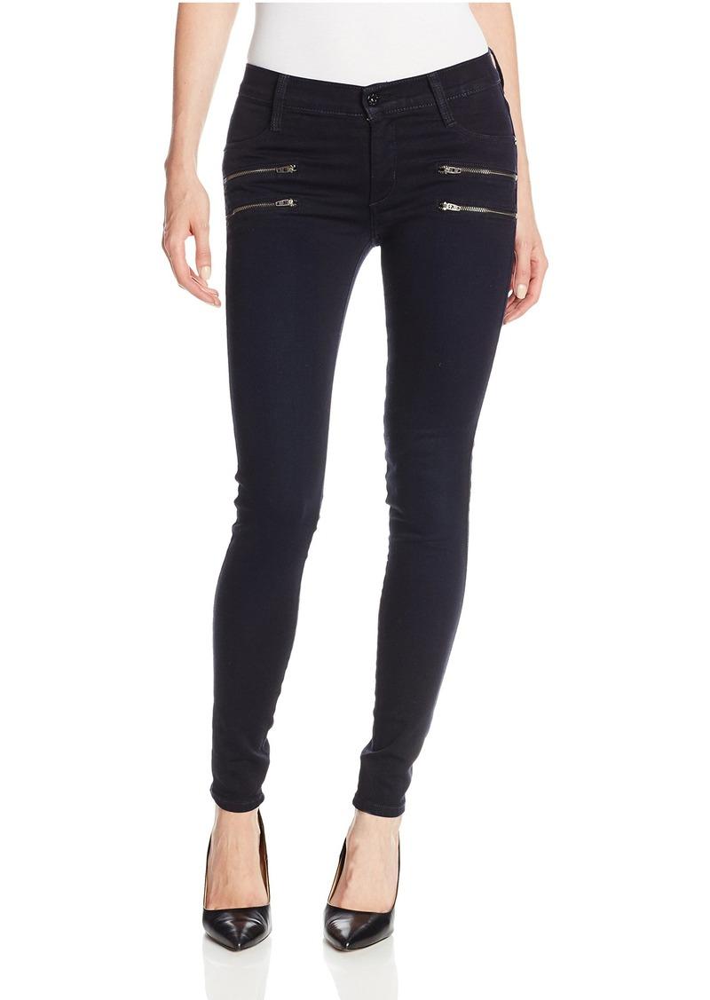 James Jeans Women's Twiggy Crux Double Front-Zip Legging Jean