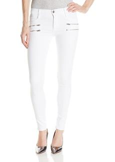 James Jeans Women's Twiggy Crux Double Front Zip Legging Jean In