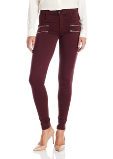 James Jeans Women's Twiggy Crux Double Zipper Skinny Jean in