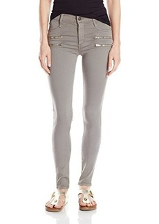 James Jeans Women's Twiggy Crux Double Front Zip Legging Jean In