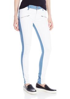 James Jeans Women's Twiggy Flip Side Zip Skinny Jean