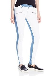 James Jeans Women's Twiggy Flip Side Zip Skinny Jean