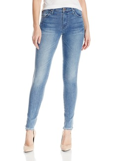 James Jeans Women's Twiggy Mid-Rise Legging Jean with Frayed Hem